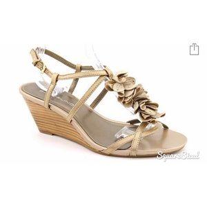 Bandolino T-Strap Wedge Sandal